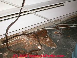 Electric Heating System Defects List  U0026 Home Inspection