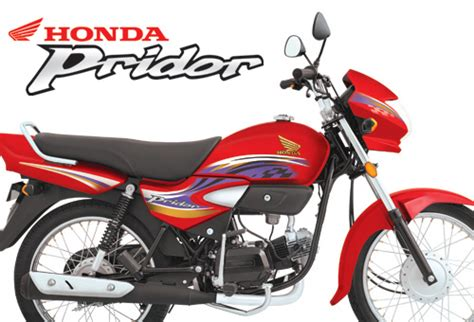 honda pridor 100cc right side look