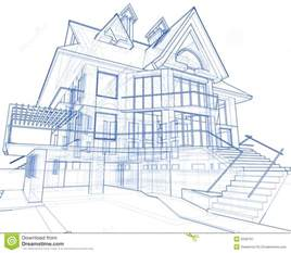blueprint for houses house architecture blueprint stock image image 5590761