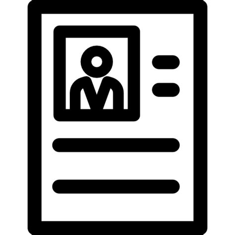 resume free business icons