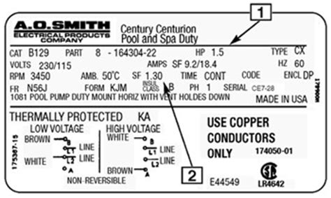 Ao Smith Ac Motor Wiring by A Basic Guide To Understanding Pool Motors