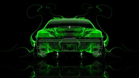 nissan silvia  jdm  fire abstract car  el tony