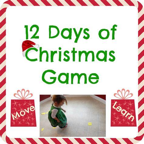 12 Days Of Christmas Game  Kids Play Smarter