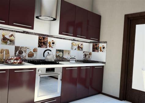 Кухонный фартук из керамической плитки Варианты дизайна и