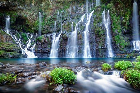 tableau magnetique cuisine cascade grand galet rivière langevin visite de l 39 île