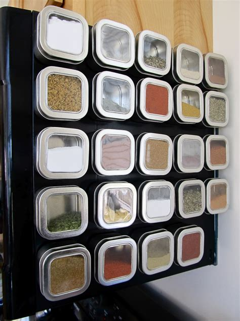 How To Make A Magnetic Spice Rack by Keep Calm Diy Magnetic Spice Rack