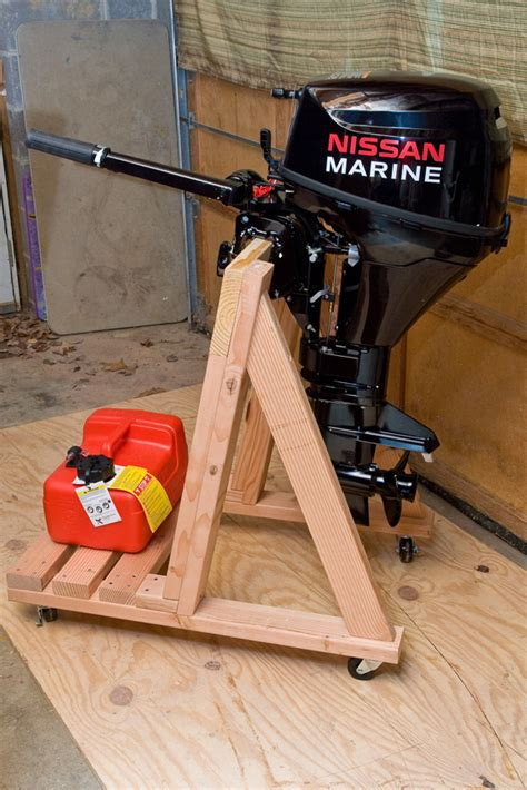 How To Make A Boat Motor Stand by Get Boat Motor Stand Plans Shena