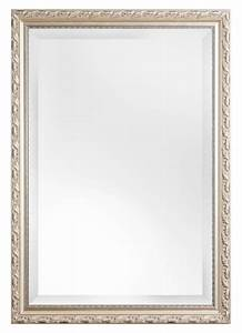 Spiegel 50 X 70 : bonalino spiegel met barok zilveren lijst ~ Bigdaddyawards.com Haus und Dekorationen