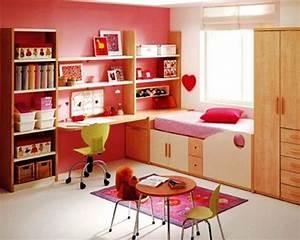Modern Feminine Study Room Decorations | Pink bedroom ...