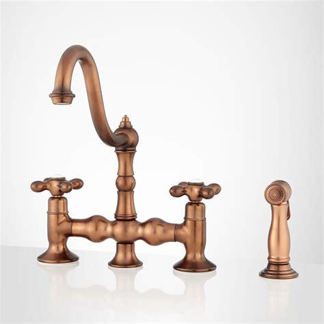 copper kitchen sink faucet moen copper finish kitchen faucet 5794
