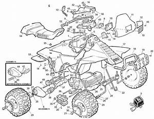 Power Wheels Suzuki Quad Racer Parts