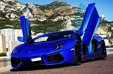 car lamborghini blue tricked out showkase a custom car sport truck suv