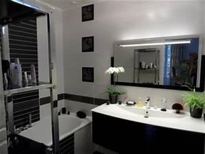 Déco Salle De Bain Noir Et Blanc : d coration salle de bain noir et blanc ~ Melissatoandfro.com Idées de Décoration