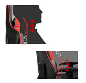 Vitesse Racing Seat by Vitesse Gaming Office Chair With Carbon Fiber Design High