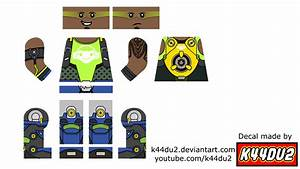 LEGO Lucio Minifig Decal Overwatch By K44du2 On DeviantArt