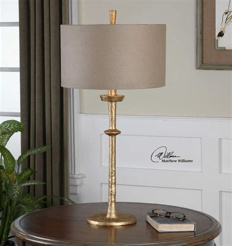 The Uttermost by Uttermost Heraclius Gold Table L Ut26188