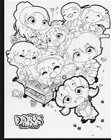 Dork Diaries Pages Coloring Diary Character Quiz Qfeast Getdrawings Printable Personality Cool Getcolorings sketch template