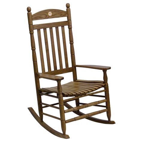 hinkle chair company tennessee tennessee volunteers collegiate rocking chair maple