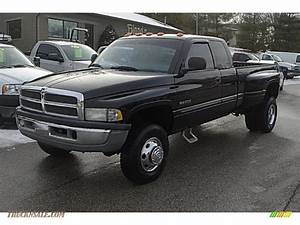 2000 Dodge Ram 3500 Slt Extended Cab 4x4 Dually In Black