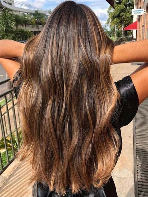 Sun In Brown Hair by 20 Beautiful Balayage Sun Kissed Highlights For 2018