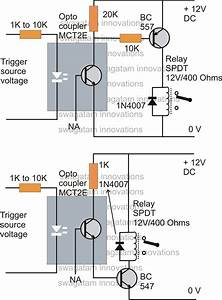 How To Drive A Relay Through An Opto