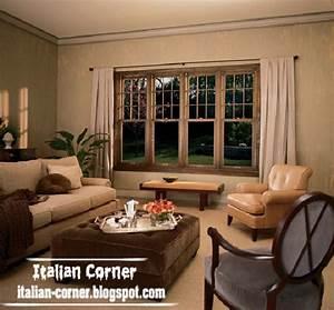 Modern italian windows designs italian windows styles for Stylish window designs for living room