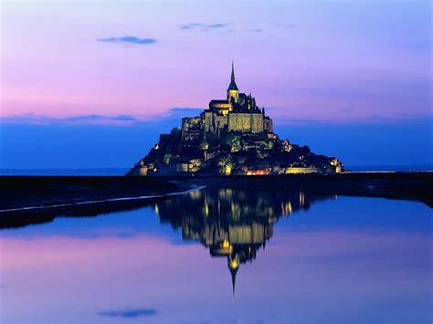 to mont st michel mont michel castle damn cool pictures