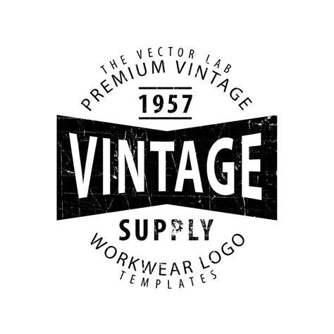 typography template logo templates vintage workwear logo templates logo and logos