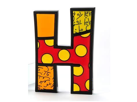 Letter H Home Decor : Britto Tall/wall Decor