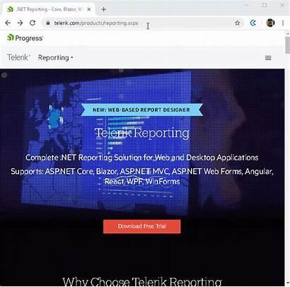 Report Blazor Viewer Enhancement Barcode Telerik