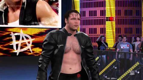 Dean Ambrose Custom Heel Attire