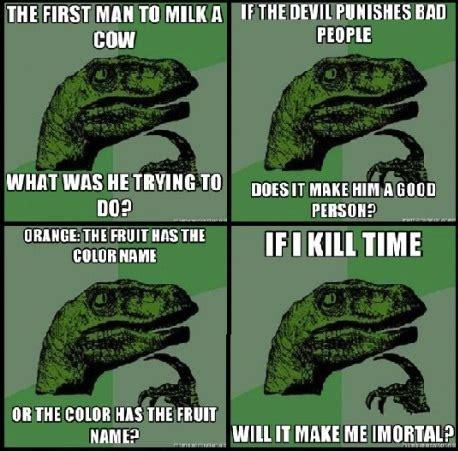 What If Dinosaur Meme - in spirt of april fools dinosaurs forum
