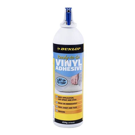 linoleum flooring glue dunlop 454g ready to go vinyl flooring spray adhesive bunnings warehouse