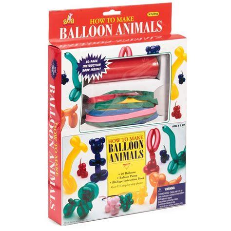 animal balloons twisting kit  kids educational toys