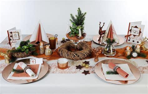 Tischdeko Kupfer Zu Weihnachten Tafeldeko