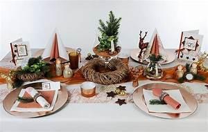 Tischdekoration Zu Weihnachten : tischdeko kupfer zu weihnachten tafeldeko ~ Michelbontemps.com Haus und Dekorationen