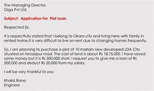 Letter For Application For Loan Formatting A Loan Application Letter With Sample Letters