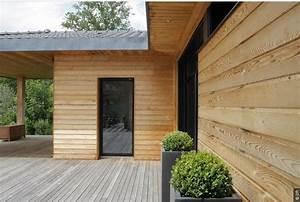 extension et agrandissement de maison en ossature bois With agrandissement maison en kit