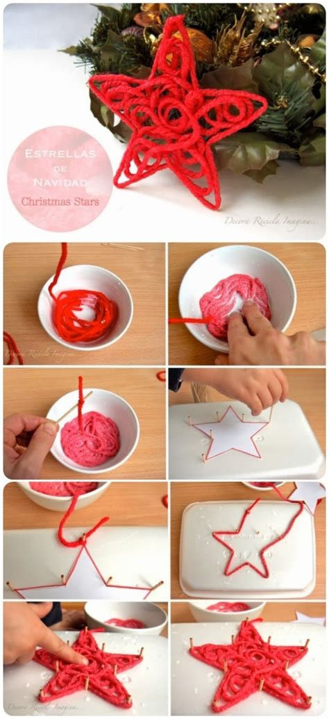 christmas decorations ornaments star diy crafts