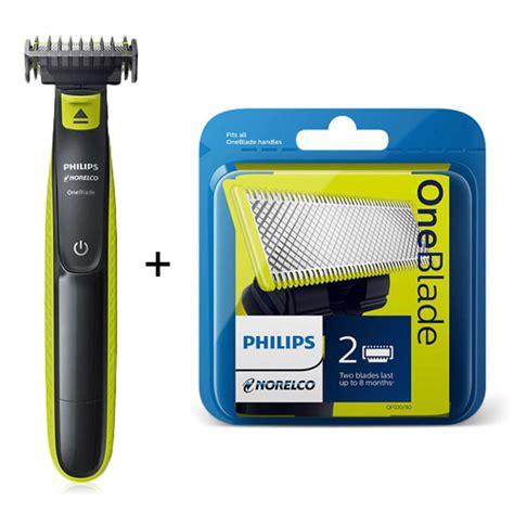 norelco oneblade trimmer blades kit mens trimmer