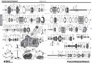 Transmission Repair Manuals F4a33