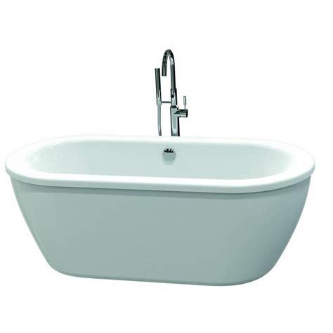 lowes freestanding tub american standard 2764 004cm202 011 clean freestanding