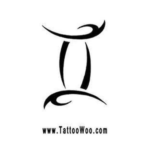 tribal gemini tattoos designs  ideas