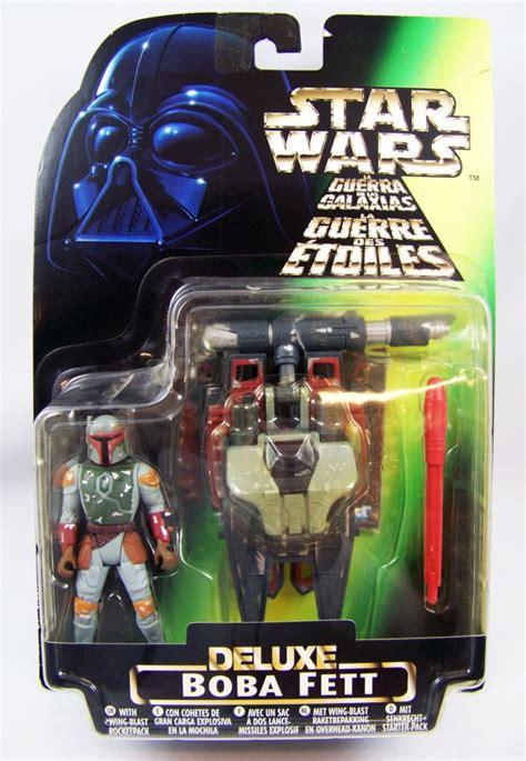 star wars  power   force kenner boba fett deluxe