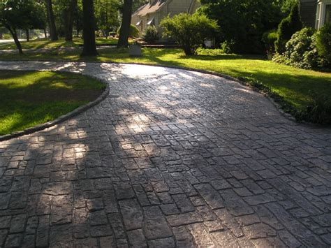 concrete driveway design ideas sted concrete nh ma me decorative patio pool deck walkwaynh decorative sted concrete