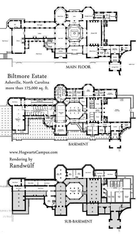 mansion floor plans biltmore estate mansion floor plan estate plans