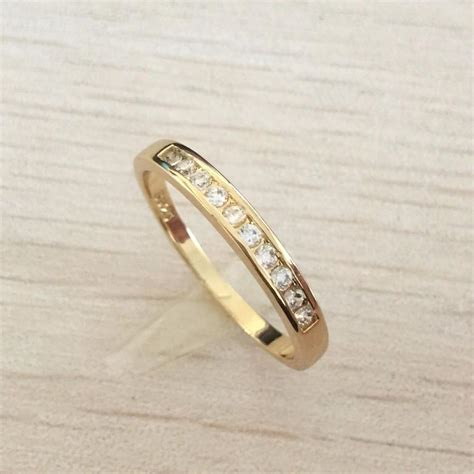 wedding and engagement rings luxury gold plated top class rhinestones online jewellery shop