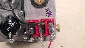 Gas Millivolt Wiring - Youtube