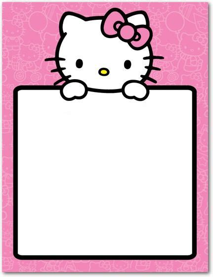Hello Kitty Birthday Banner Template Free