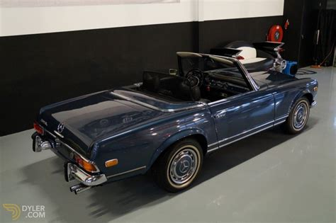 For sale is this stunning silver 1969 mercedes 280sl pagoda rhd automatic with black leather seats and soft top. Classic 1971 Mercedes-Benz 280 SL Pagoda for Sale - Dyler